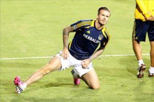 David Beckham insured his legs for $151,000,000