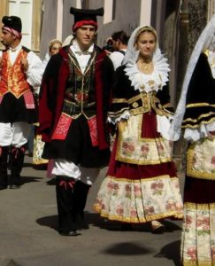 Italian traditional clothes