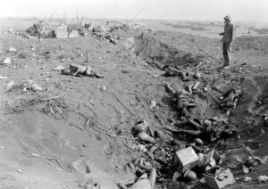 The soldiers who died in the Iwo Jima