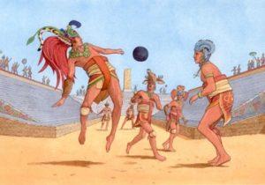 The Mayan ball game