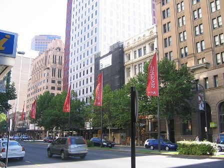 Facts about Adelaide - King William Street
