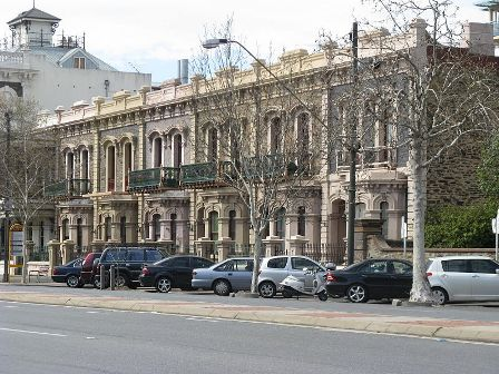 Facts about Adelaide - Terrace House