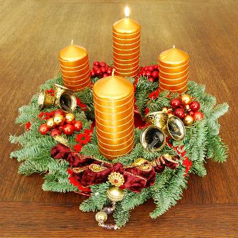 Facts about Advent - Advent wreath