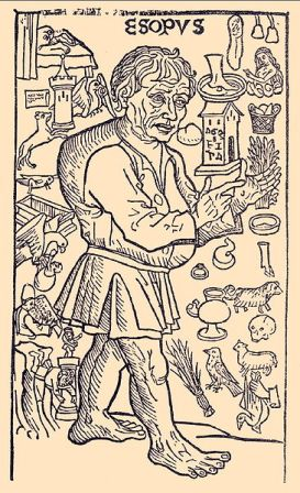 Facts about Aesop - Woodcut