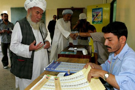 Facts about Afghanistan - Election