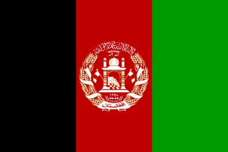 Facts about Afghanistan - Flag