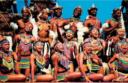 Facts about African music - African people singing