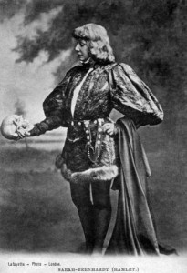 Facts about acting - Bernhardt as Hamlet