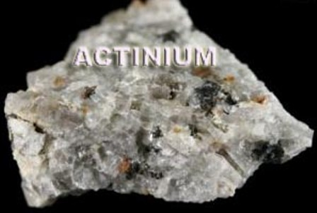 Facts About Actinium on Dmitri Mendeleev