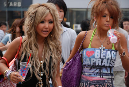 Facts about adolescence - Japanese Gyaru