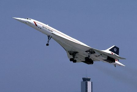 Facts about aeroplanes - British Airways Concorde