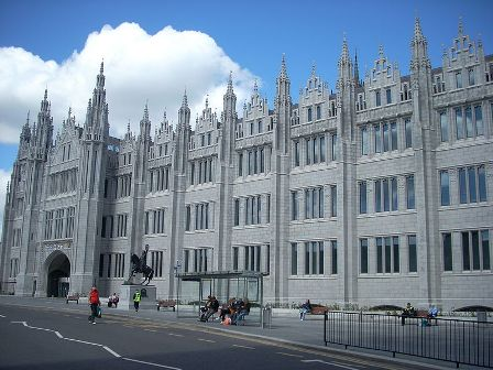 Facts about Aberdeen - Marischal College
