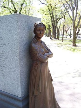 Facts about Abigail Adams - Statue