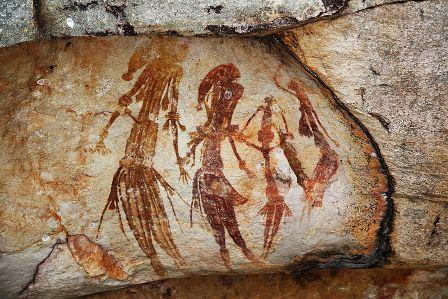 Facts about Aboriginal art - Bradshaw painting