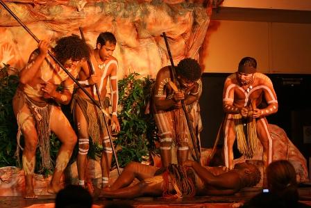 Facts about Aboriginal culture - Tjapukai performance