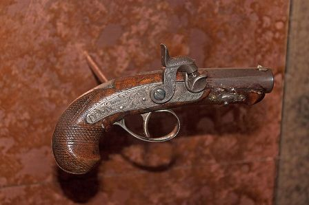 Facts about Abraham Lincoln Assassination - Gun used to shoot Lincoln