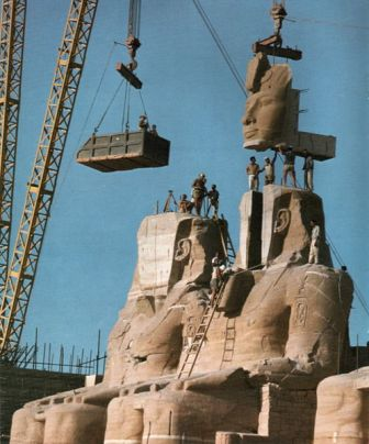 Facts about Abu Simbel - Reconstruction