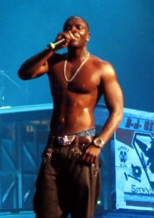 Facts about Akon - Performing