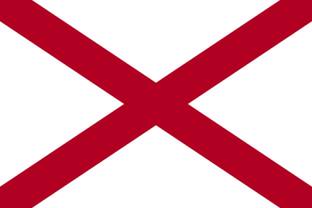 Facts about Alabama - Flag