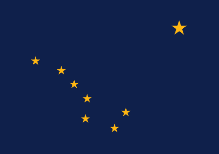 Facts about Alaska - Flag