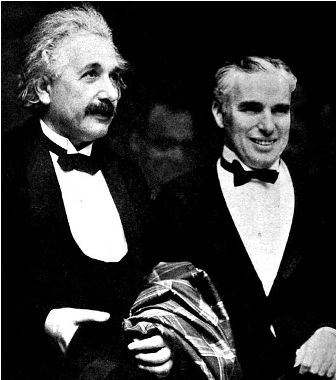 Facts about Albert Einstein - Albert Einstein and Charlie Chaplin