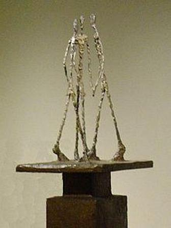 Facts about Alberto Giacometti - Three Walking Men