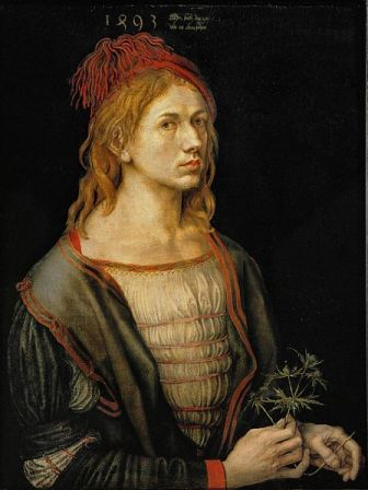 Facts about Albrecht Durer - Self-portrait