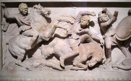 Facts about Alexander the Great - Sarcophagus