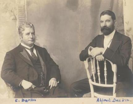Facts about Alfred Deakin - With Edmund Barton
