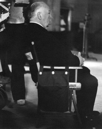Facts about Alfred Hitchcock - Alfred Hitchcock directing