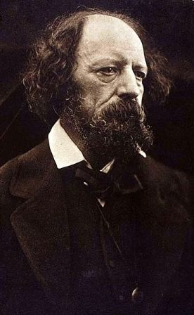 Facts about Alfred Lord Tennyson - Portrait taken in 1869