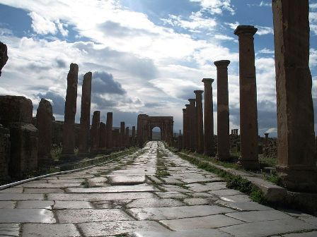 Facts about Algeria - Roman empire