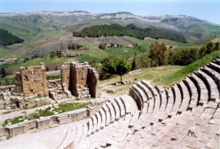 Facts about Algeria - Roman theatre