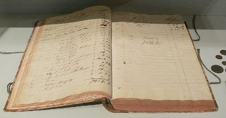 Facts about accounting - A 19-century ledger