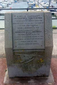 Amelia Earhart Commemoration Stone