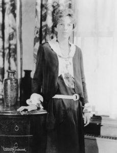 Amelia Earhart Studio Photograph