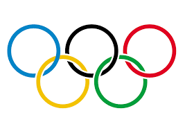 The emblem of the Olympic Games