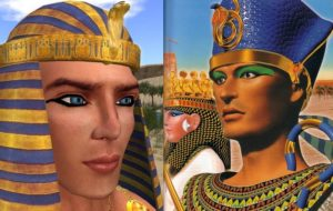 Ancient Egyptian men used eye makeup