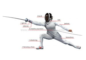 Fencing uniform