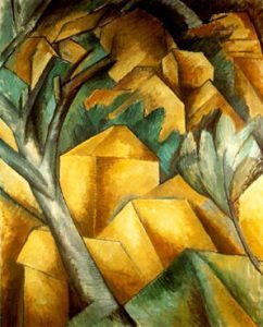 Cubism (Houses at L'Estaque, 1908)