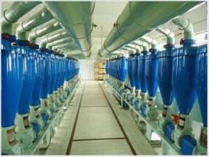 Quality control in flour mills