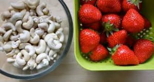 Strawberries and Cashews