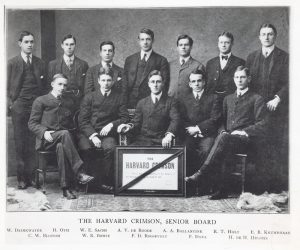 Franklin D. Roosevelt in Harvard Collage