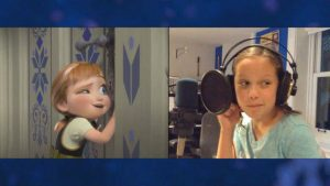 Voices of young Anna (Katie Lopez)
