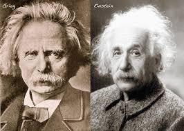 Edvard Grieg and Albert Einstein