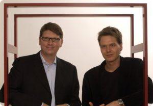 Niklaz Zennstrom and Janus Friis