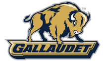 The mascot of Gallaudet University, Bison