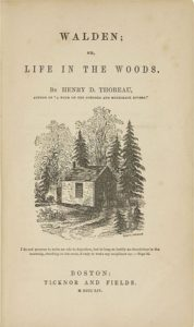Facts about Henry David Thoreau