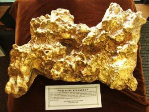 The largest gold nugget in the world
