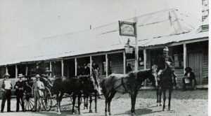 The transportation during goldfield